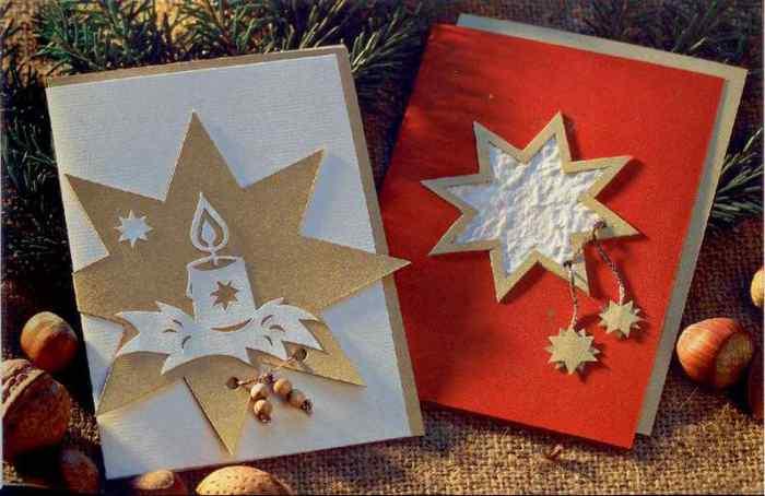 Как сделать рождественскую открытку своими руками на английском