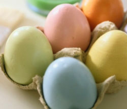 Dyed-brown-eggs