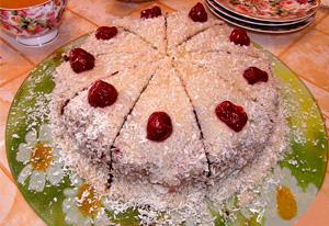 торт-вишневый