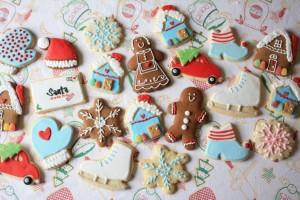 Новогоднее-печенье