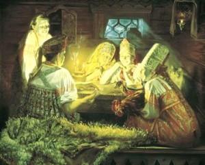Гадание на Рождество 6-7 января на будущее