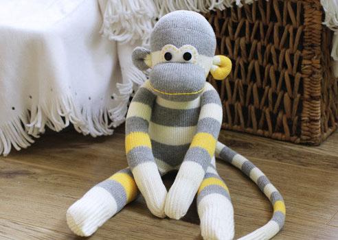 Игрушка обезьянка своими руками сшить