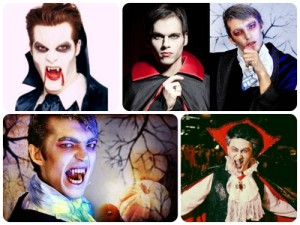Образ-вампира-на-Хэллоуин
