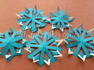 Необычные снежинки из бумаги своими руками