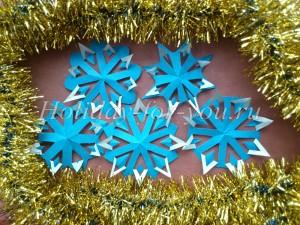 Необычные снежинки своими руками к Новому году