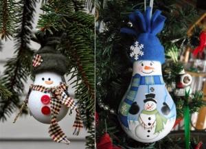 Игрушки на елку своими руками из подручных материалов