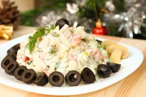 Новогодние салаты с фото: рецепты