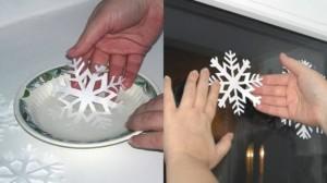 Снежинки из бумаги: шаблоны для вырезания