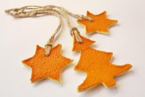 игрушки из апельсиновых корок
