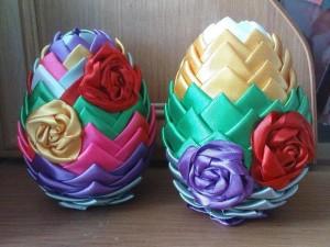 Яйцо с цветами