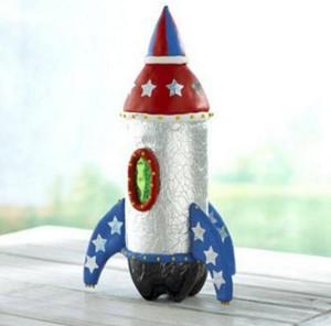 Ракета из бутылки