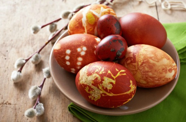 Узоры на яйцах