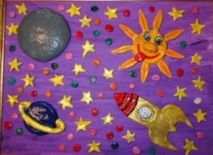 Поделки ко Дню космонавтики в детский сад своими руками