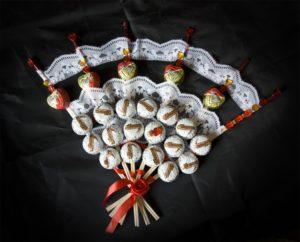 Подарок маме на День Рождения из конфет
