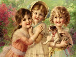 Вера, Надежда, Любовь и мать их София: праздник