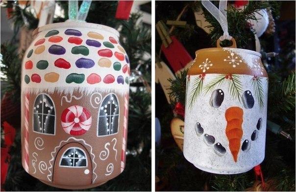 Елочные игрушки своими руками: мастер класс, фото. Как сделать новогодние игрушки на елку для детского сада, на конкурс, для уличной и большой елки?