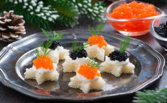 Новые и интересные рецепты закусок на Новый год 2019