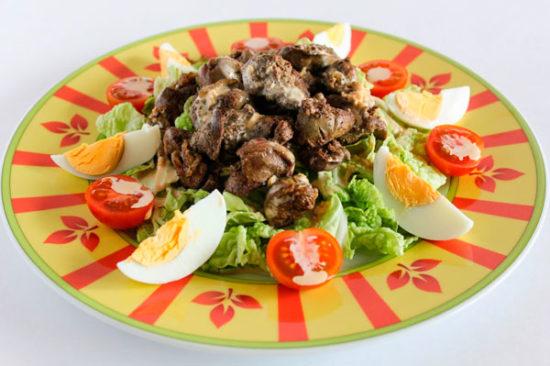 Праздничный Перигорский салат