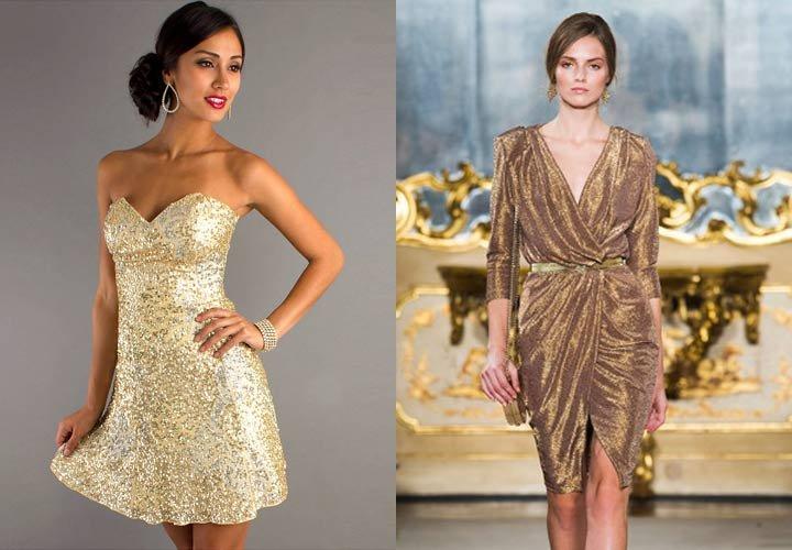 Ну а поскольку хозяйка года внимательно следит за всеми модными тенденциями, то она благосклонно отнесётся и к новогоднему платью в трендовых цветах.
