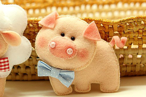 Свинка символ года 2019