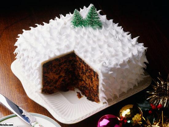 Торт «Новогодняя нежность»