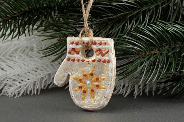 Сувенир «новогодняя варежка»