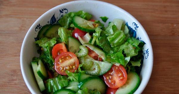 Готовим салат из овощей