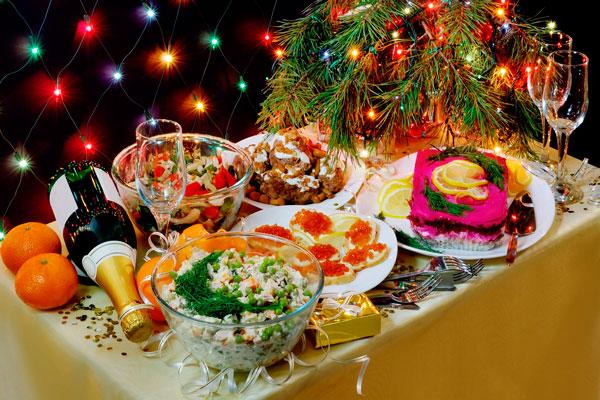 Каким столом и блюдами встреть Новый год 2019