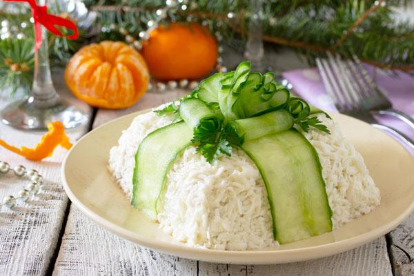 Очень вкусные рецепты салатов на Новый год 2019 с пошаговыми фото