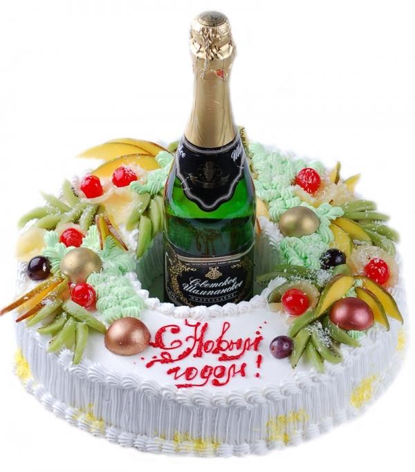 Месяцев картинки, картинка с тортом и шампанским