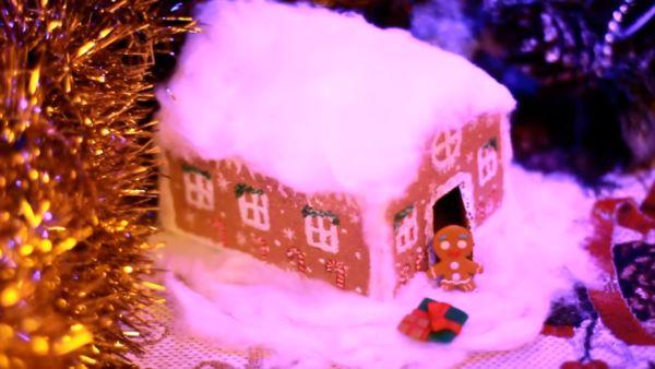 Сказочный домик из картона