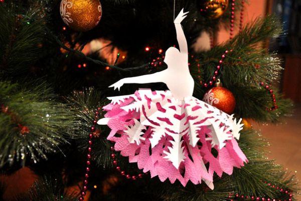 Балерина на елку