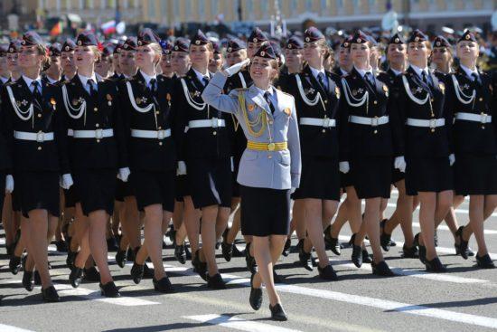 полицейский парад
