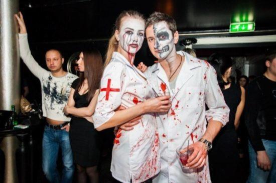 Хэллоуин в клубе