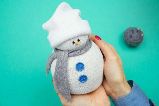 снеговик4