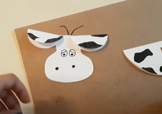 рисуем глаза и нос