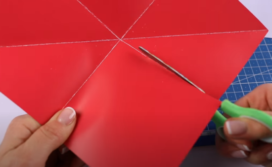 Бумагу раскрываем