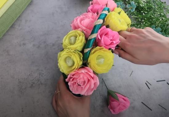 Распределяем все цветочки