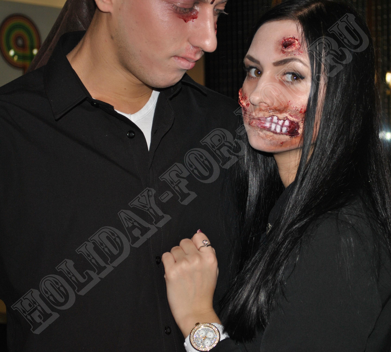образы на хэллоуин как сделать