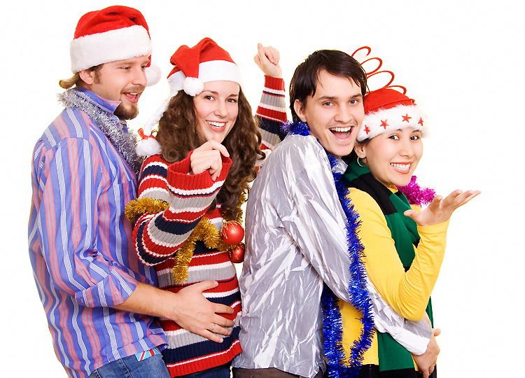 Веселые конкурсы для новогоднего праздника