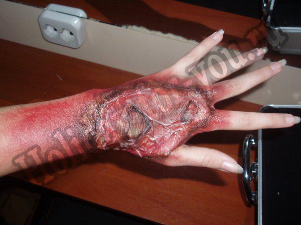 Сделать кровь своими руками