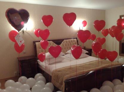 Как сделать сердца из шаров на свадьбу своими руками 77