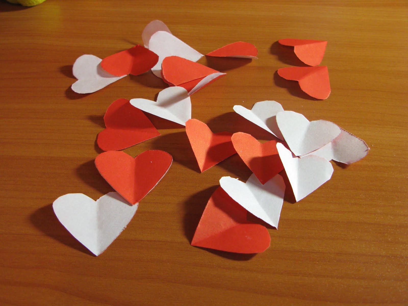 Как сделать 3d сердце из бумаги своими руками 5