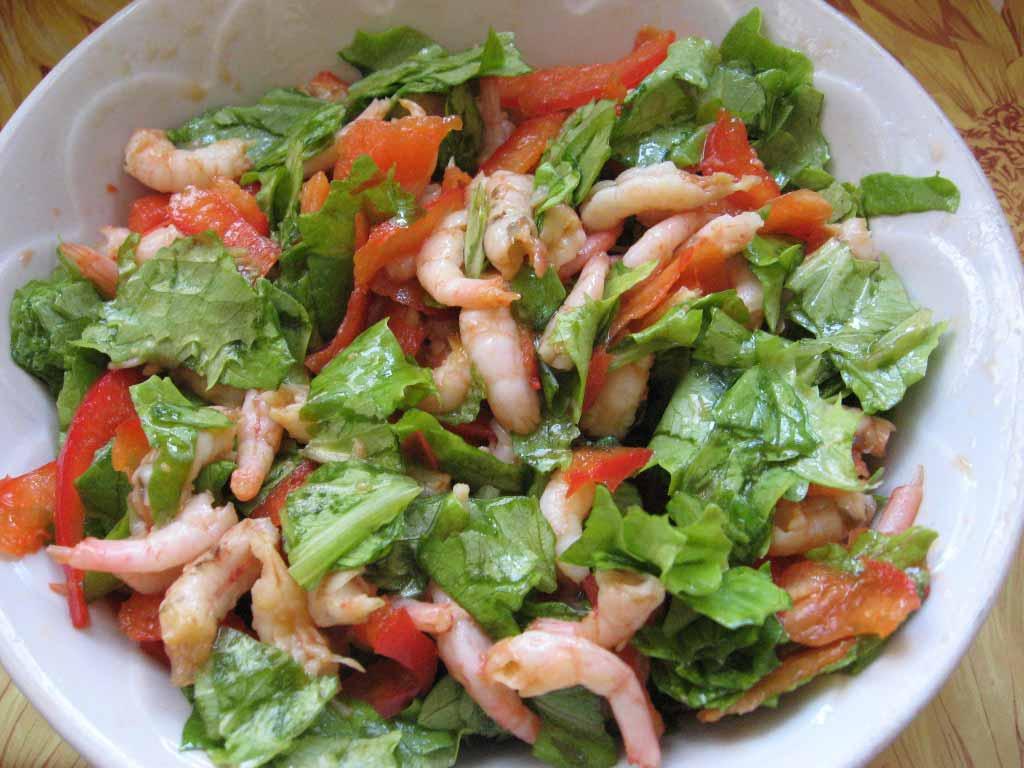 Салат из морепродуктов фото рецепты