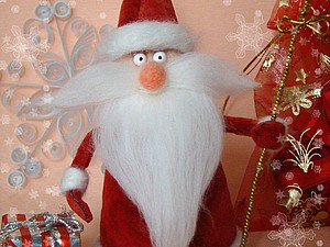 Дед мороз поделки своими руками из ваты