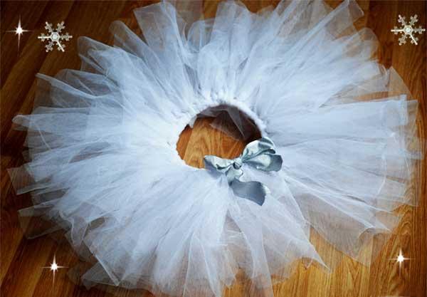 Платье на новый год для детей своими руками