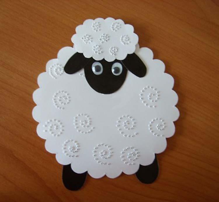 Овцу своими руками