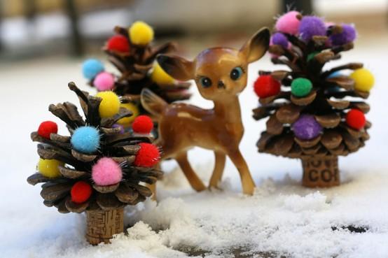 Как сделать новогоднюю елку своими руками из