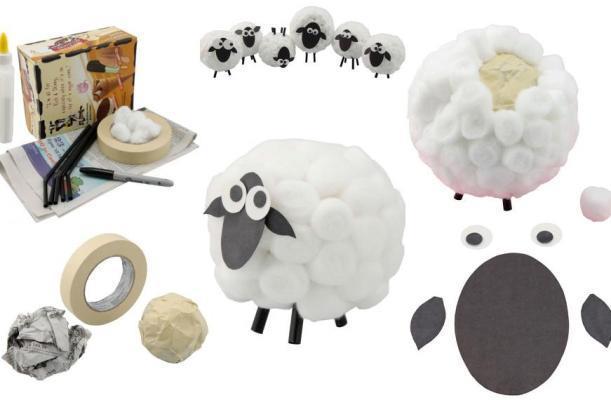 Подделка своими руками овечка