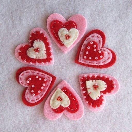 Сердечко ко дню святого валентина своими руками
